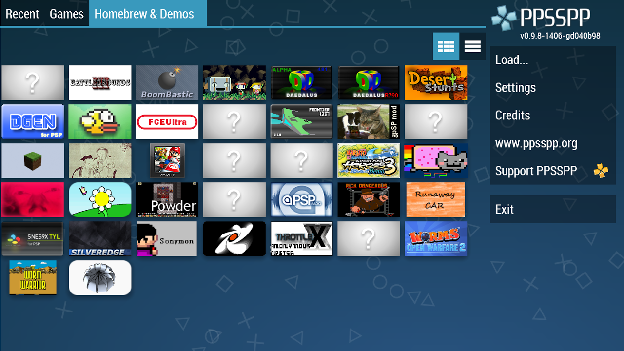 Android PPSSPP Gold - PSP emulator Screen 3