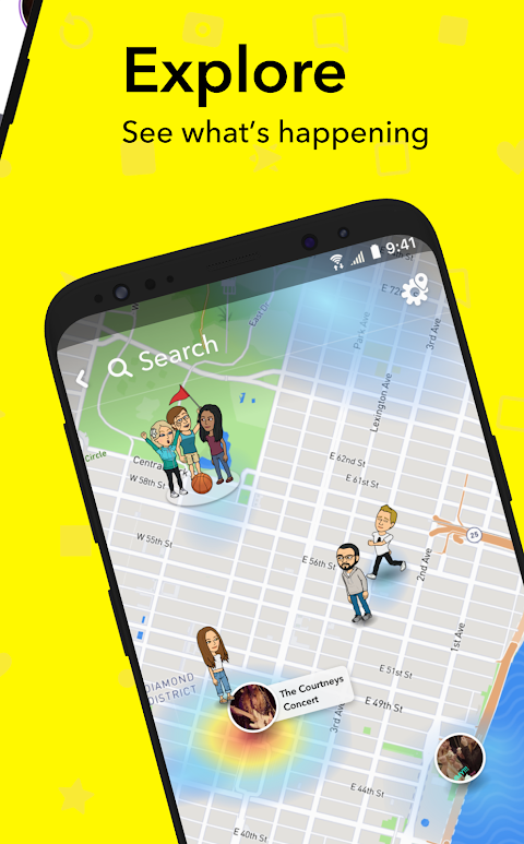 Snapchat 10.50.6.0 Beta Screen 4