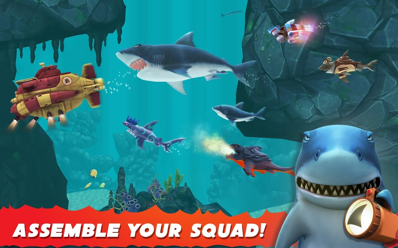 Android Hungry Shark Evolution (Mod) Screen 6