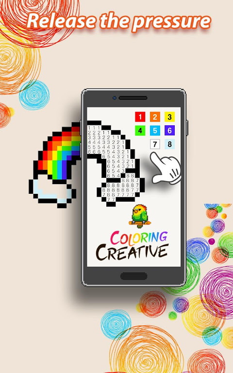 Android Coloring Creative - Color by Numbers & Pixel Art Screen 11