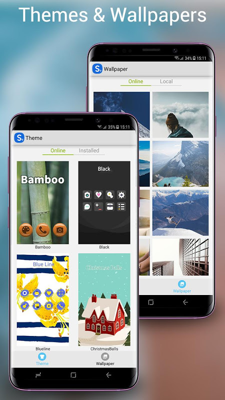 Android S7 Launcher -Galaxy S7 launche Screen 2