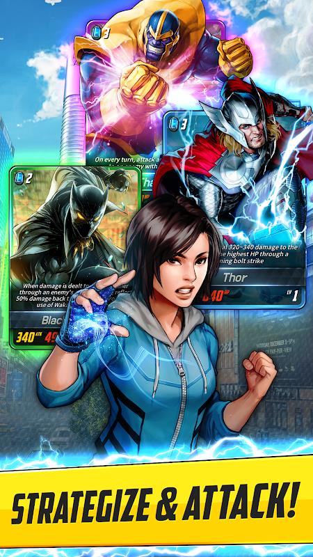 MARVEL Battle Lines 2.0.1 Screen 3