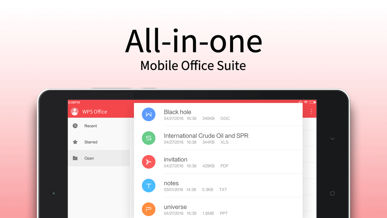 WPS Office + PDF 11.3.3 Screen 9