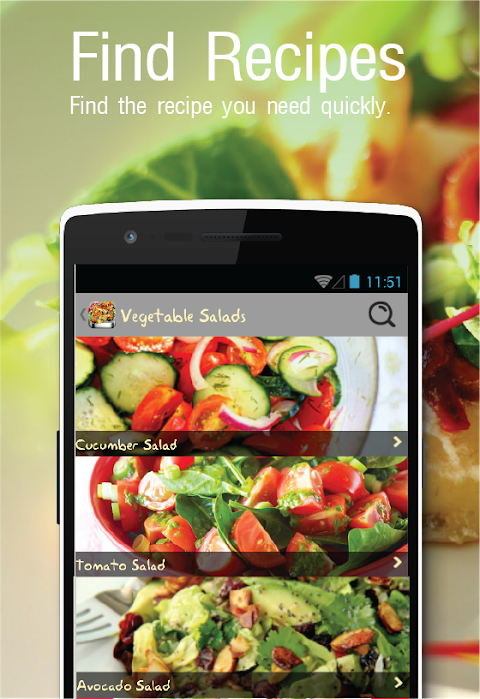 1000+Salad Recipes FREE 8.0 Screen 3