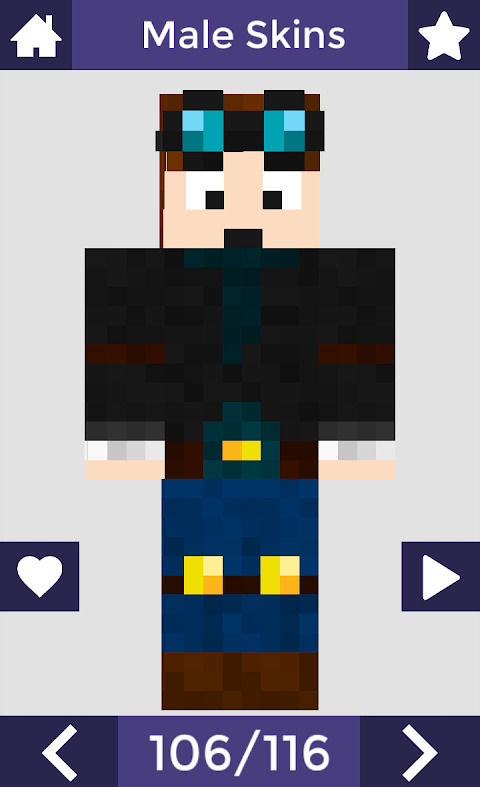 Skins for Minecraft PE 6 Screen 4
