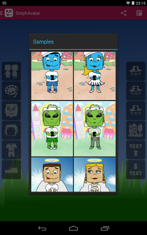 Android Smartphone Avatar Screen 9