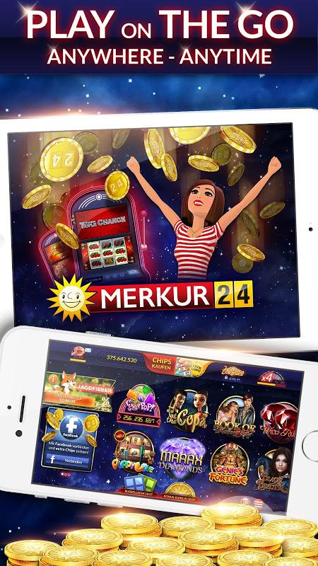 Android MERKUR24 – Online Casino & Slot Machines Screen 7