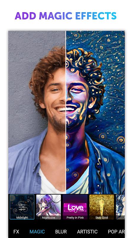 Android PicsArt Photo Studio: Collage Maker & Pic Editor Screen 5
