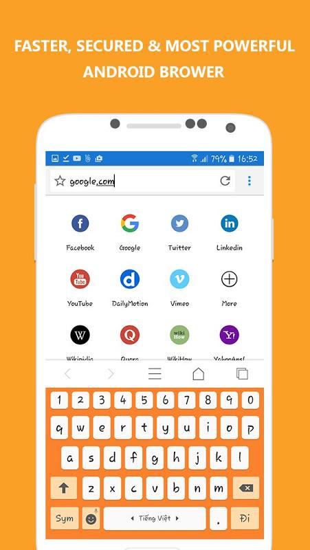 Adblocker Browser 7.3 Screen 6