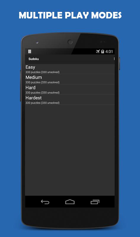 Sudoku 1.8.0 Screen 2