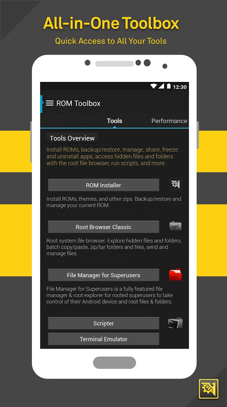 Android ROM Toolbox Lite Screen 5