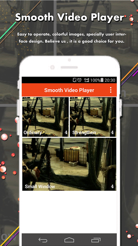 Smooth Video Player 6.0.0 Screen 1