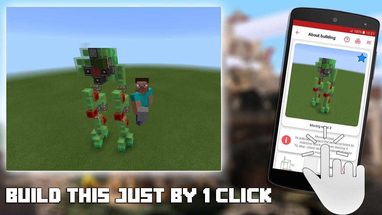 Redstone Builder for Minecraft PE 10.1 Screen 1