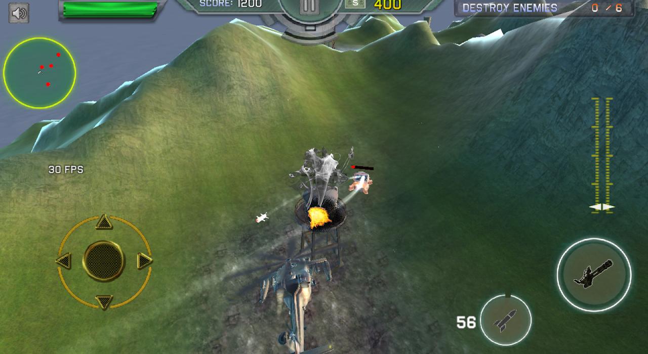 Heavy Gunship Helicopter War🚁 1.3 Screen 3