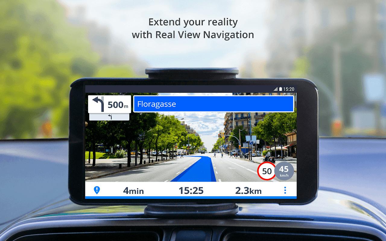 GPS Navigation & Maps Sygic 18.4.2 Screen 4