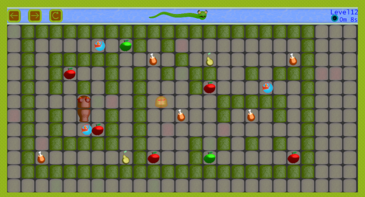 Android Snake vs Monsters Screen 4