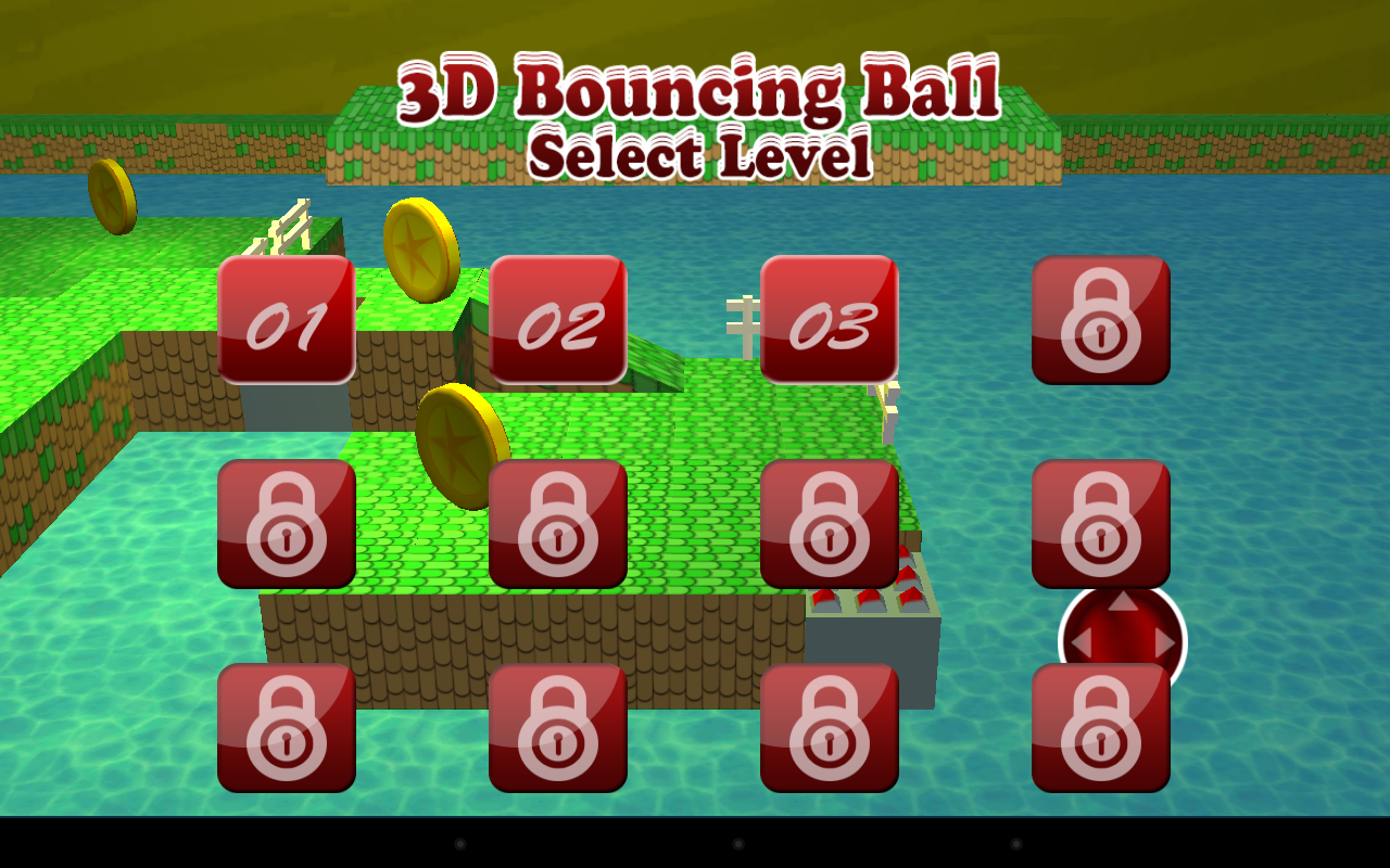 Android 3D Bouncing Ball Free Screen 8