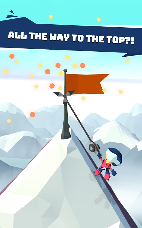 Android Hang Line: Mountain Climber Screen 8