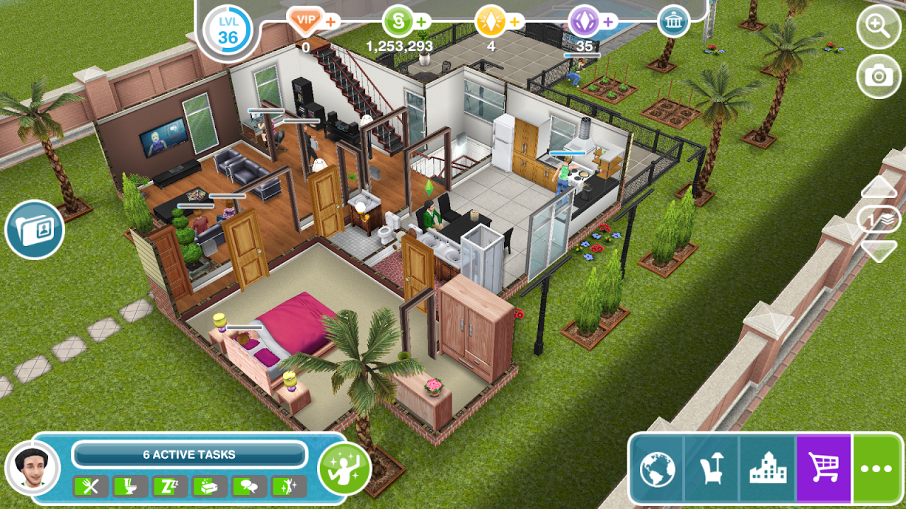 Android The Sims FreePlay Screen 8