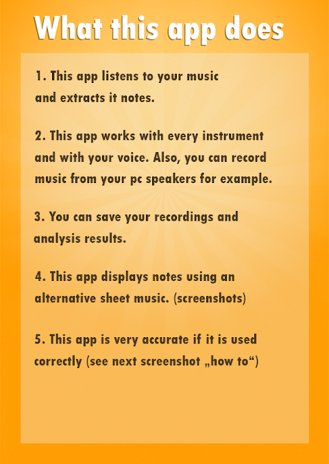 Android Note Recognition - Convert Music into Sheet Music Screen 7