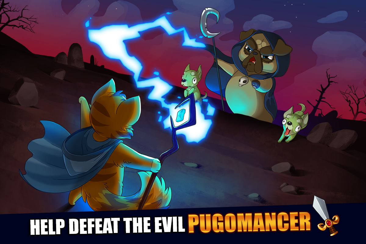 Android Castle Cats: Epic Story Quests Screen 7