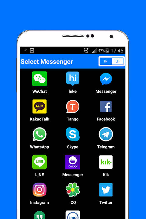 Messenger 1.0 Screen 1
