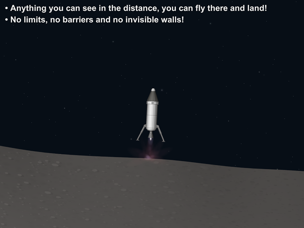 Android Spaceflight Simulator Screen 3