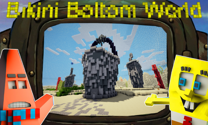 Bikini Bottom World Craft - Underwater Building 1.0 Screen 1