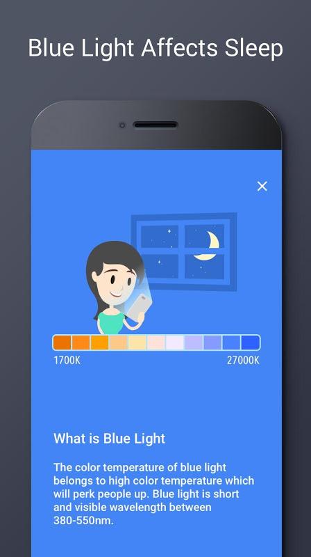 Blue Light Filter - Night Mode, Eye Care 1.4.2N Screen 1