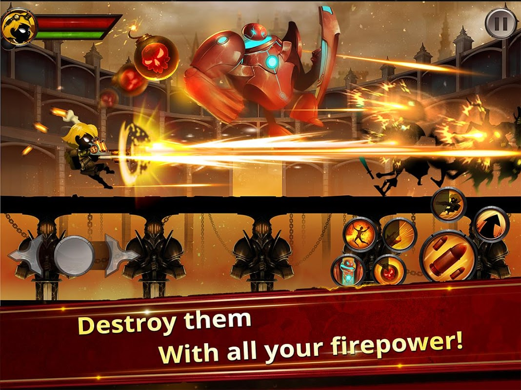 Android Stickman Legends - Ninja Hero: Knight, Shooter RPG Screen 5