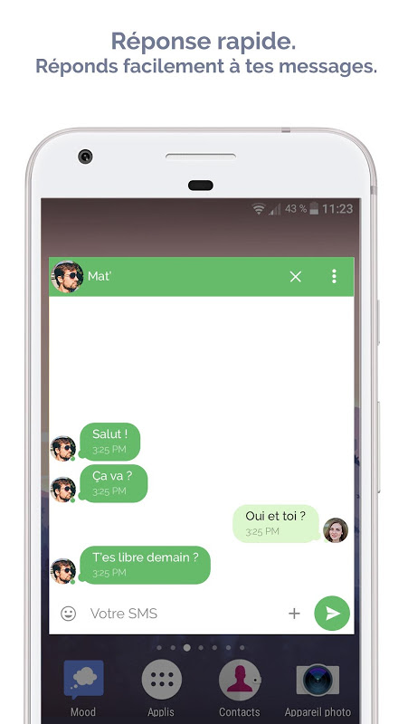 Android Mood Messenger - SMS & MMS Screen 6