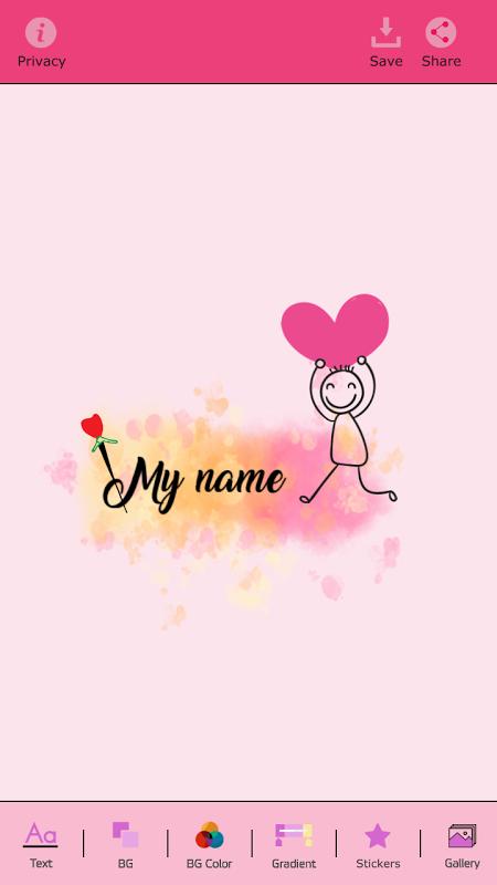My Name Art Focus n Filter 1.4 Screen 5