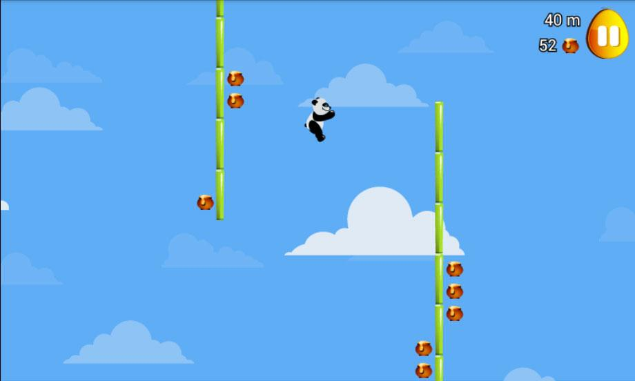 Android Panda Slide Screen 3