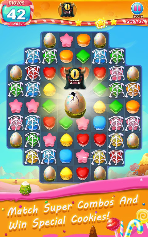 Android Cookie Blast Frenzy Screen 1