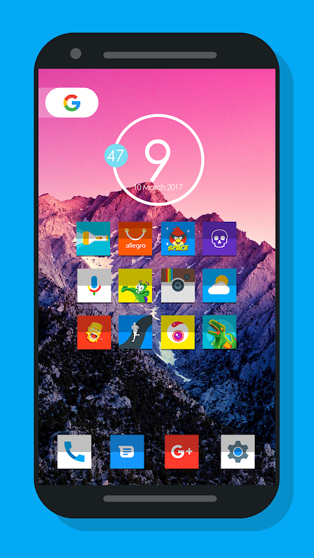 Nougat Square - Icon Pack 1.3.8.1 Screen 4