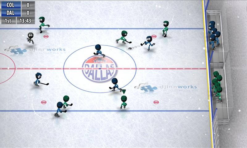 Stickman Ice Hockey 1.8 Screen 1