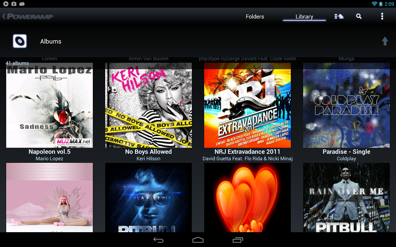 Poweramp 2.0.10-build-860589-x86-play Screen 20