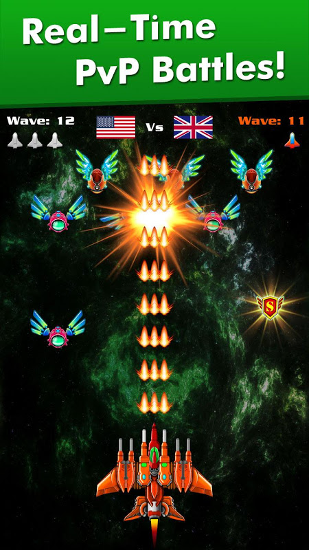 Galaxy Attack: Alien Shooter 7.13 Screen 1