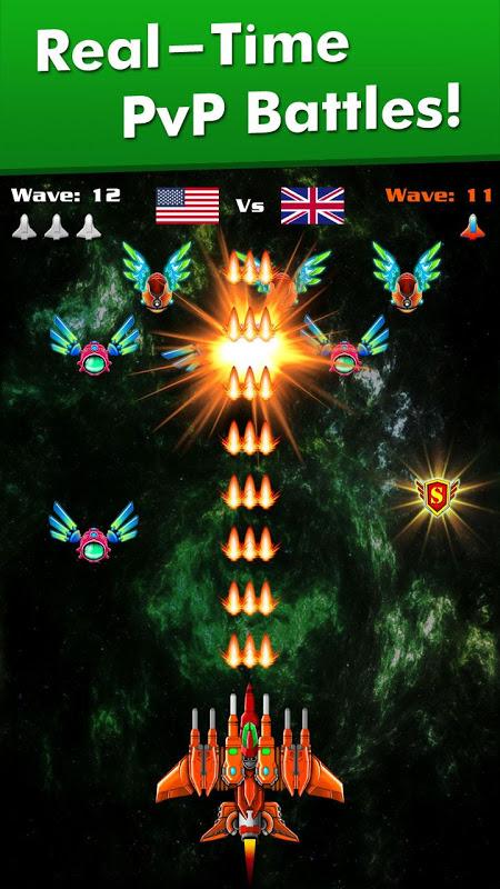 Galaxy Attack: Alien Shooter 6.43 Screen 1