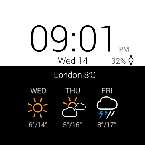 Transparent clock weather Pro 0.99.02.39 Screen 19