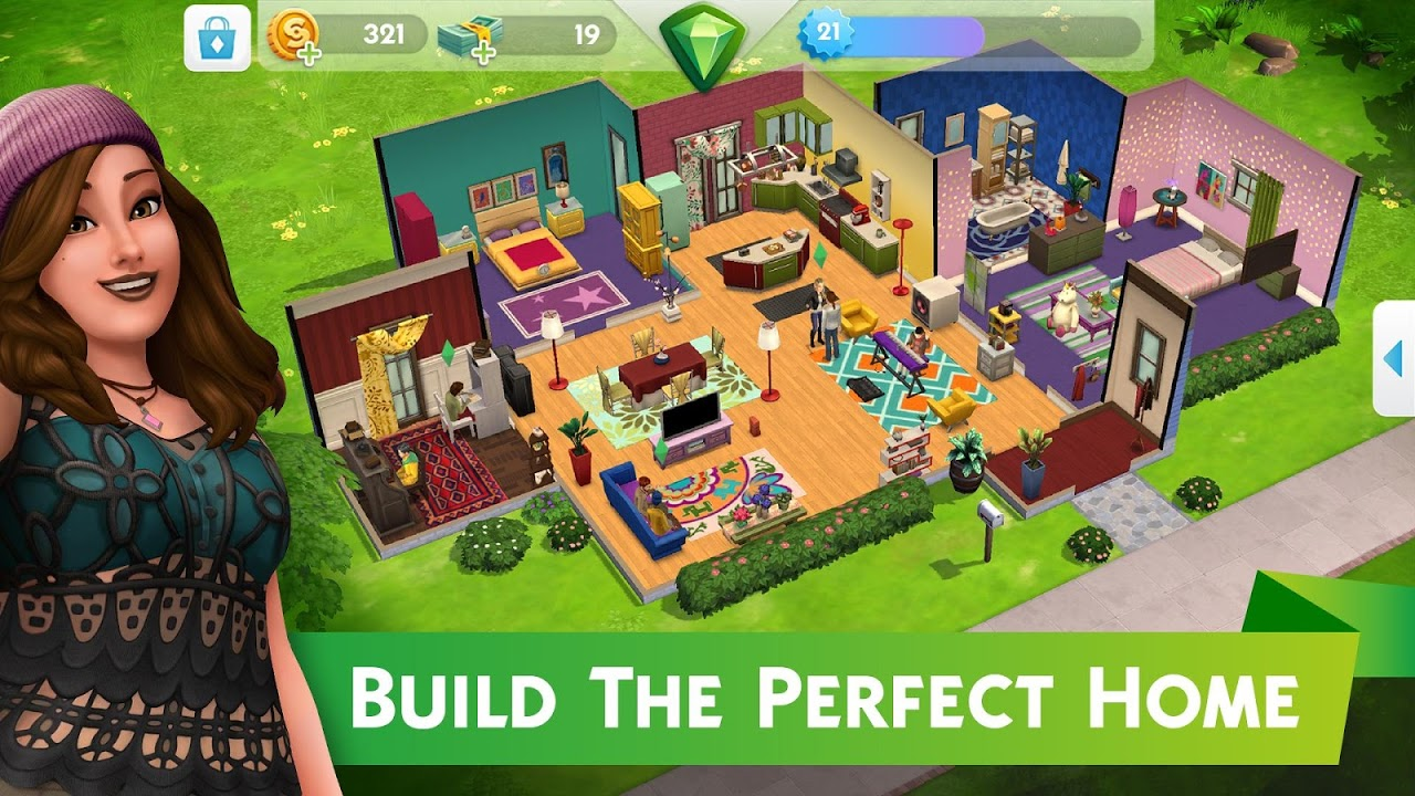 The Sims™ Mobile 12.3.0.208251 Screen 1