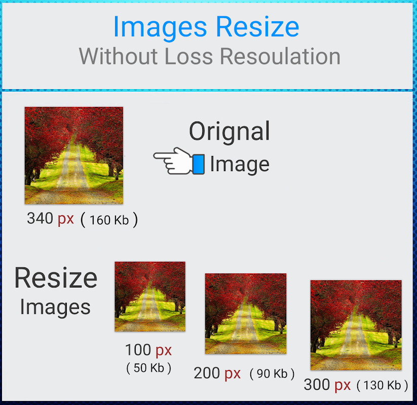 Photo Resizer - Pictures resizer 1.0 Screen 3