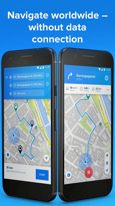 Android Bikemap - GPS Bike Route Tracker & Map for Cycling Screen 9
