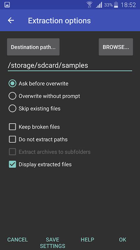 Android RAR Screen 12