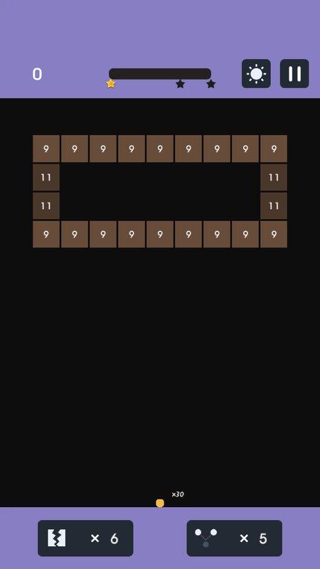Android Brick Breaker Bounce Screen 2