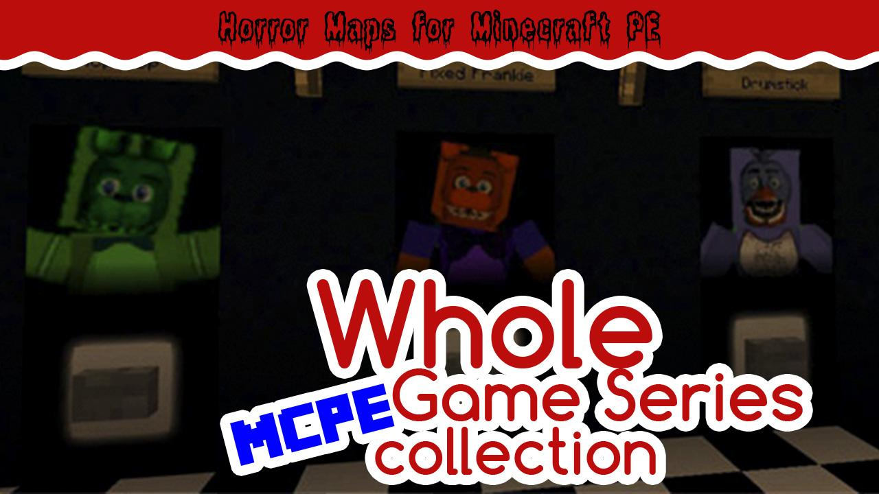 Android Horror Maps ONaF for MCPE Screen 1