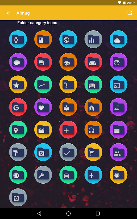 Android Almug - Icon Pack Screen 9