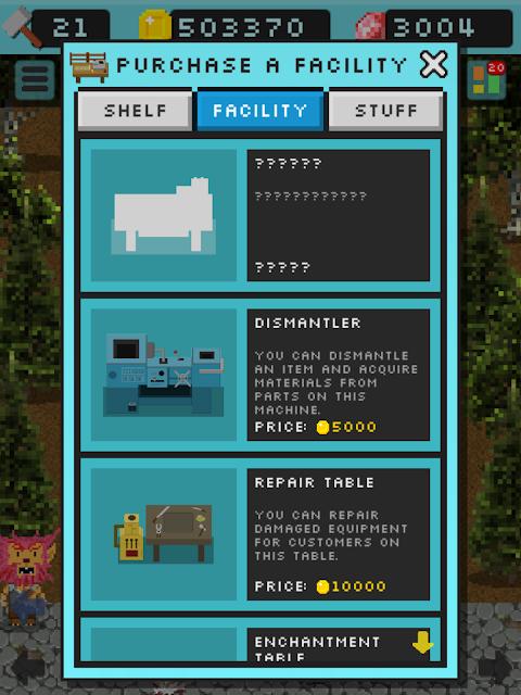 Android Goblin's Shop Screen 14