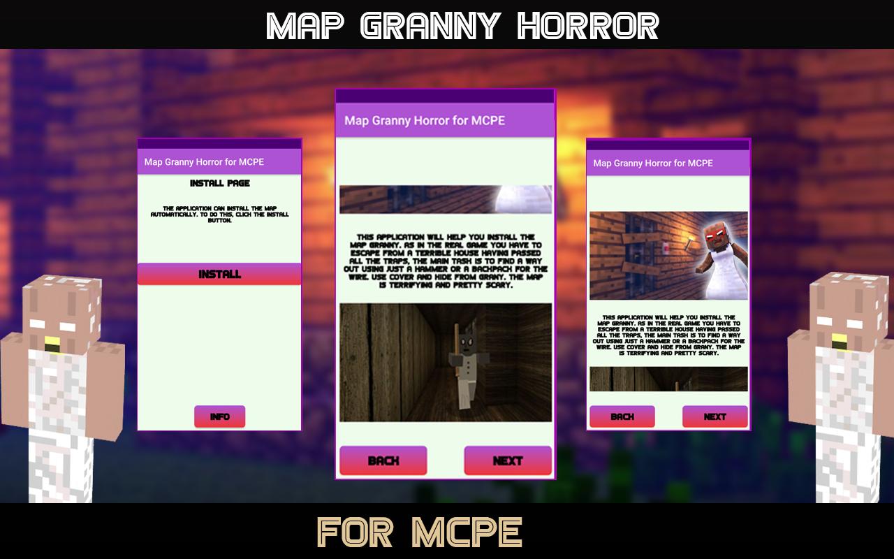 Horror Map for MCPE - Granny 1.0 Screen 2
