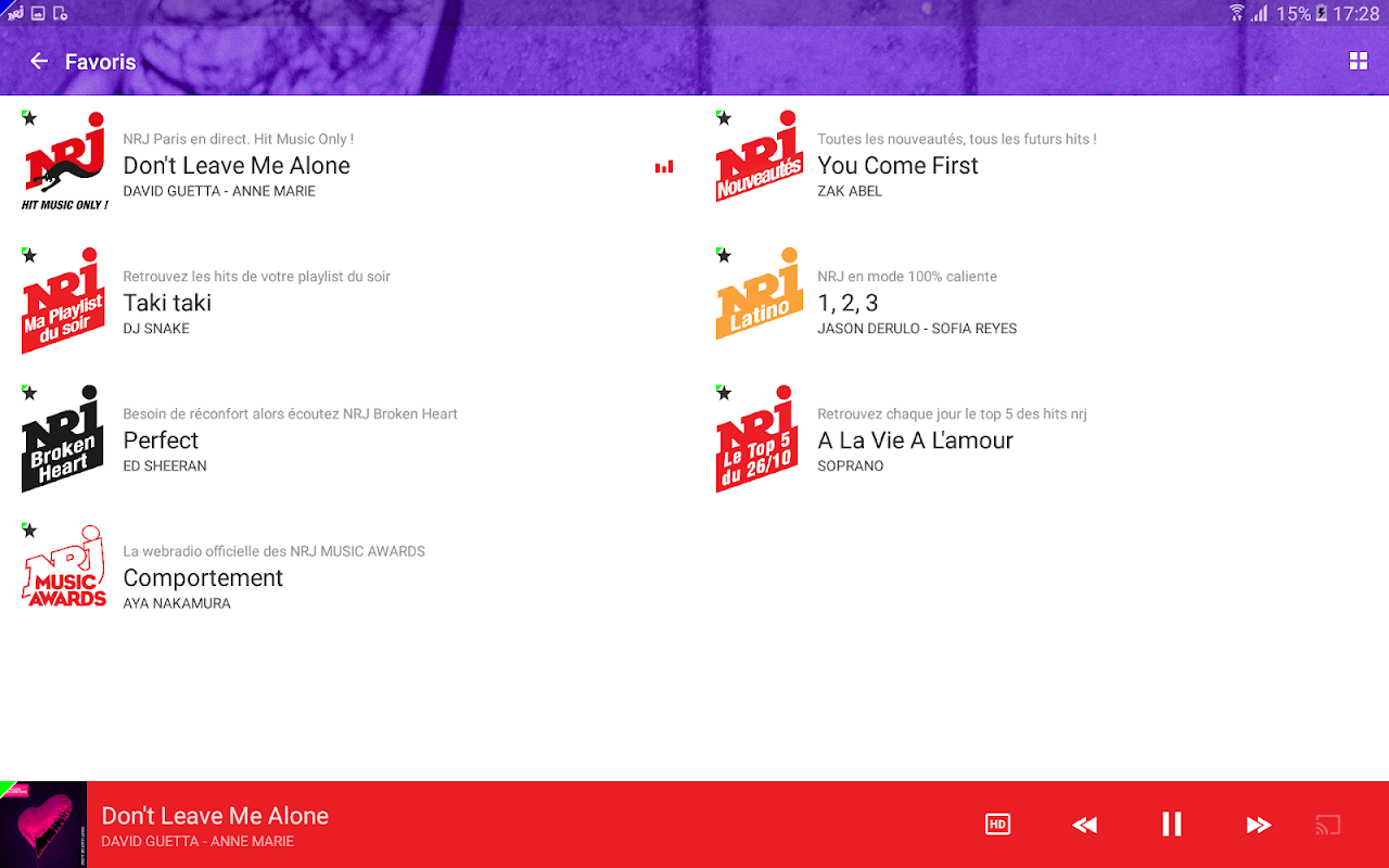 NRJ Radios 4.5.1 Screen 11